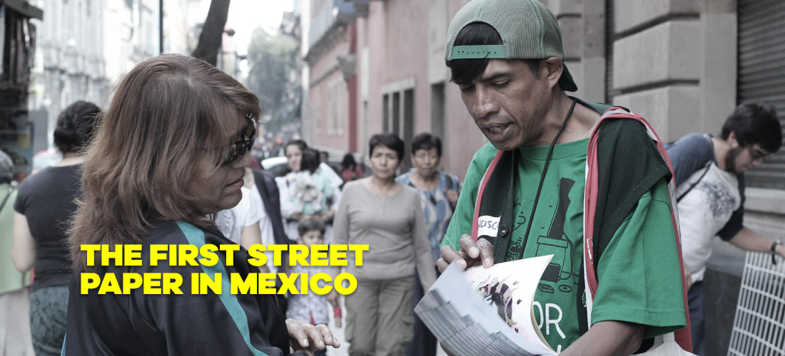 Mi Valedor, the only mexican street paper
