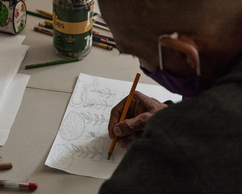one of the many workshops given in our creative center