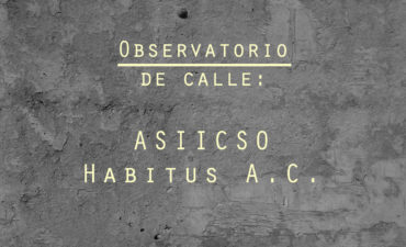 Observatorio de calle: ASIICSO Habitus A.C.