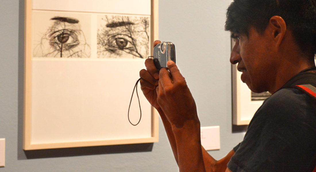 Visita guiada de la exposición de Flor Garduño