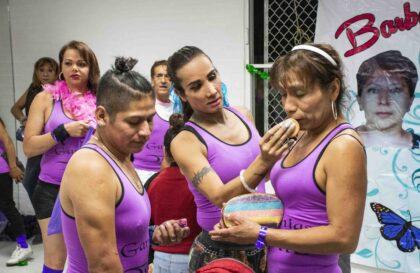 Jugué un partido de futbol contra Las Gardenias, el equipo transgénero, transexual y travesti de Tepito*